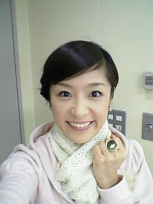 五明祐子の自撮り画像